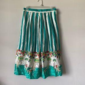 Vintage Parisian French cafe romantic full skirt